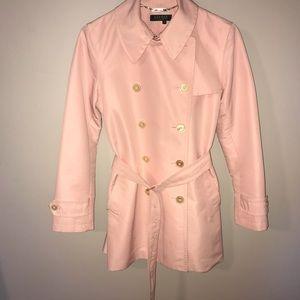 RALPH LAUREN pink trench coat